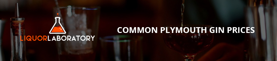 Common Plymouth Gin Prices
