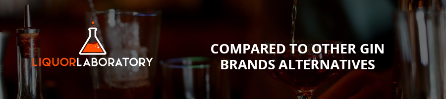 Compared to Other Gin Brands Alternatives