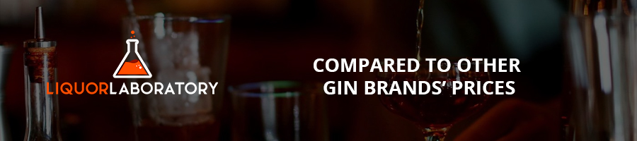 Compared to Other Gin Brands' Prices